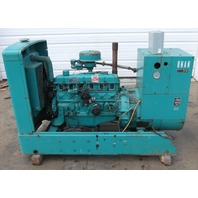 Onan 45 kW Natural Gas Generator 1,183 Hrs