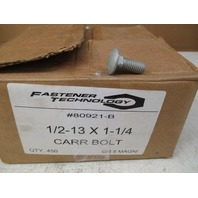 1/2-13 X 1-1/4 Grade 5 Corrosion Resistance Carriage Bolts *Box of 450*