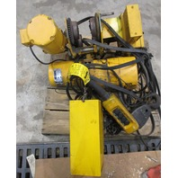 Budgit 2 Ton Chain Hoist with Motor Driven Trolley Cat. # 900823 Model 15462-5