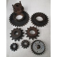 **Lot of 7** (2)Browning Sprockets 501 2x1; H501 1x1 (4) Martin Sprockets 80B S13 1  1/4; 80613; 60BTL25; 60S30  and (1) unknown 3904331