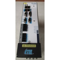 ETEL AccurET MODULAR POSITION CONTROLLER EA-P2M-400-15 / 40A-0100-00