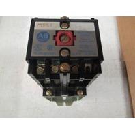 ALLEN BRADLEY 700DC-P400Z24 CONTROL RELAY SER. A, TYPE P W/ 700-PB40 ADDER DECK
