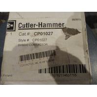 Cutler Hammer CP01027 Contactor **NIB**