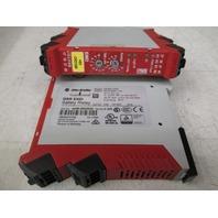 Allen Bradley 440R-EM4R2D Safety Relay  Lot of 2