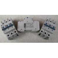 Allen-Bradley - 1489-A3D100 Industrial Circuit Breaker, 10 Amp, 3 Pole  **Lot of 3**