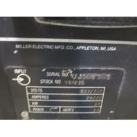 Miller Deltaweld 451  constant voltage DC welding power source with 24V constant feed Millermatic S-62 wire feeder