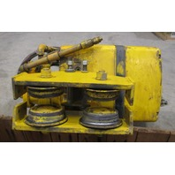 Duff-Norton  1/2 ton hoist  model no. KAL1/2-151G25S1 equipped with trolley