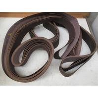 **Lot of 14**  Midwest 3 x 132, 60 grit, aluminum oxide sanding belts