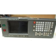 "GE Fanuc Series 16-TT Keyboard  with  9"" CRT/MDI Unit Type D7CM-01A Monitor"