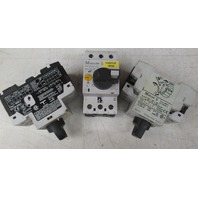 Moeller PKZMO-20 Motor Starter Protector  with NHI11-PKZO **Lot of 3**