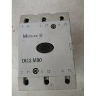 Moeller Contactor Starter Relay DIL3 M80