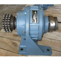 Shimpo Circulute 60D35 Speed Reducer 35:1 Ratio