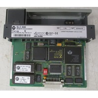 Allen Bradley SLC500 Remote I/O Scanner 1747-SN Ser B