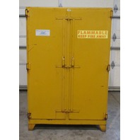 Wilray 90 Gal. Flammable Storage Cabinet Model 150-56 S.M.  3 Shelves