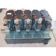 MAC Valves (5) 82A-AC-CKA-TP-DAAP-4DA-9 Solenoid Valves TP-DAAJ-4DA