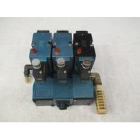 MAC Valves (3) 82A-AC-CKA-TP-DAAP-ADA9 Solenoid Vales TP-DAAJ-4DA