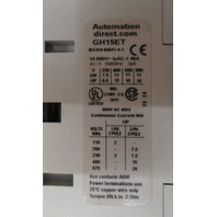Automation Direct Contactors GH15ET Lot of 3