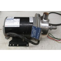 Marathon Electric Jet Pump 137.001.123 with Motor Pump 3377K114 (Stainless)