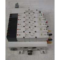 SMC VQ4301-3 VVQ400-10A-1 Solenoid Valve Manifold Control Block