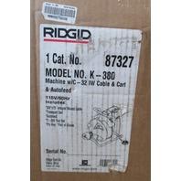 Ridgid Kollmann Drain Cleaning Machine K-380 115V