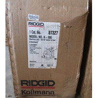 Ridgid Kollmann Drain Cleaning Machine K-380 115V