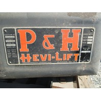 P&H Hevi-Lift 3-Ton Hoist 440V 3 PH (No trolley)