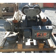 P&H Hevi-Lift 2-Ton Hoist 220 V 3 Phase