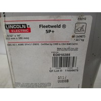 "Lincoln Electric Fleetweld 5P+ 5/32"" x 14"" Rods ED010285"