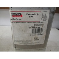"Lincoln Electric Fleetweld 5+ 5/32"" x 14"" Rods ED010285 (New No Lid)"