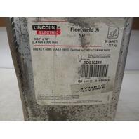 "Lincoln Electric  Fleetweld 5P 3/32"" x 12"" Rods ED010211"