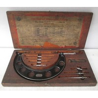 "The Starrett Micrometer Caliper  2"" to 6"" No. 224 Set A"