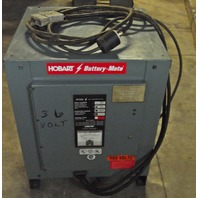 Hobart Battery-Mate 750H3-1BC 36V Forklift Battery Charger 208/240/480 Volt 3 Phase