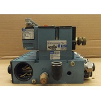 MAC 82A-AC-000-TP-DAAP-4DA Pneumatic Valves - 5 Valve Assembly