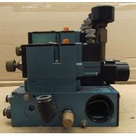 MAC 82A-AC-CKA-TP-DAAP-4DA-P  Pneumatic Valves - 5 Valve Assembly with 3 regulators