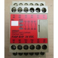 Omron Safety Light Curtain Control F3SP-B1P