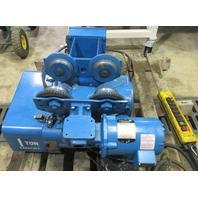 Shawbox Lifttech 1 Ton Hoist/115886-1  with Power Trolly/439509-15