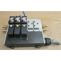 SMC Valves NVFS2100-3FZB with 5 Valve Base NVV5FS2-01T1-051-02T