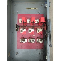 Square D Heavy Duty Switch H325 400 Amp 240 Volt