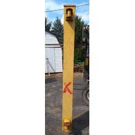 Gorbel 1 Ton Cantilever JIB Crane 20Ft Span WC200-B1-20-W16