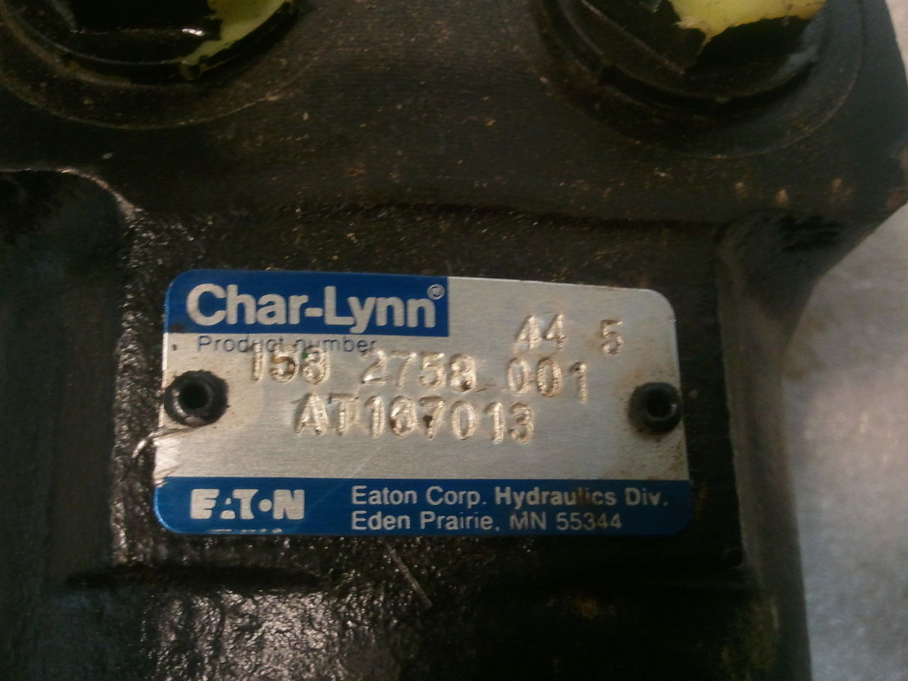 Char Lynn At167013 Hydraulic Motor John Deere S 1 6 Ebay