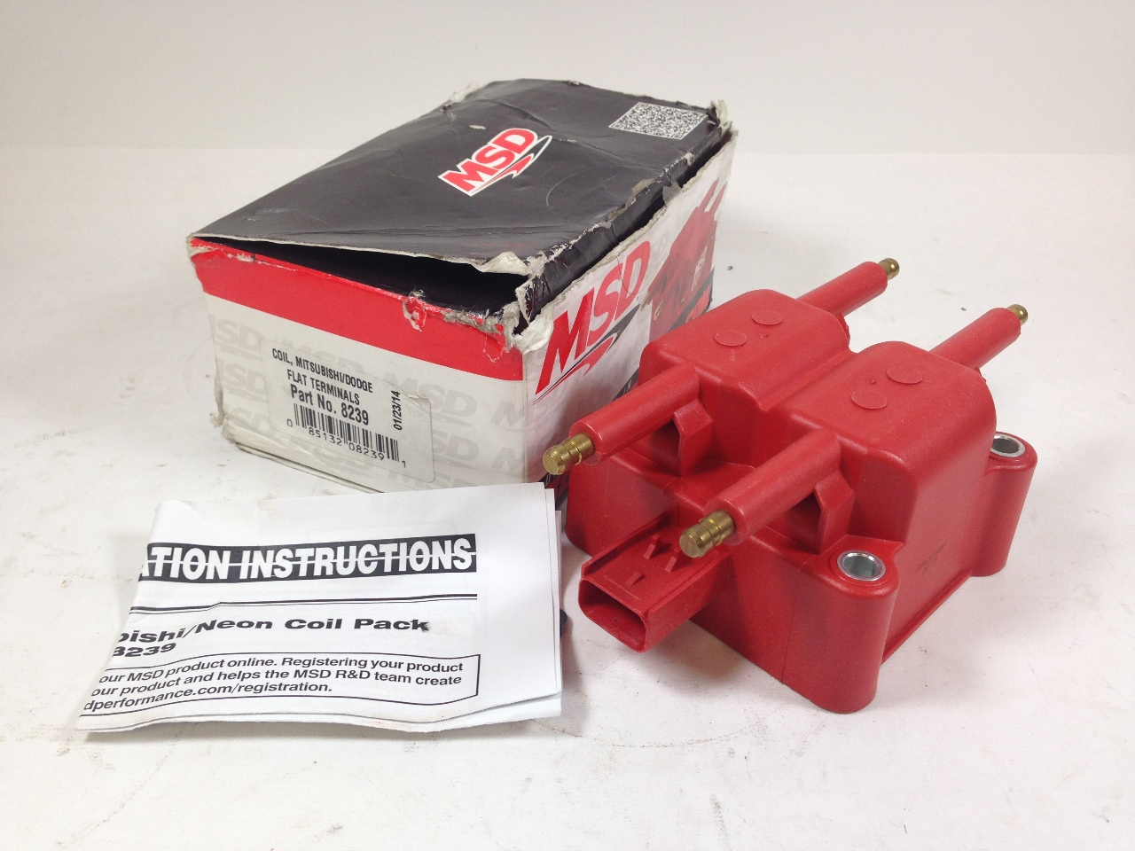 MSD 8239 Ignition Coil 4-Tower Mitsubishi Dodge 96-02