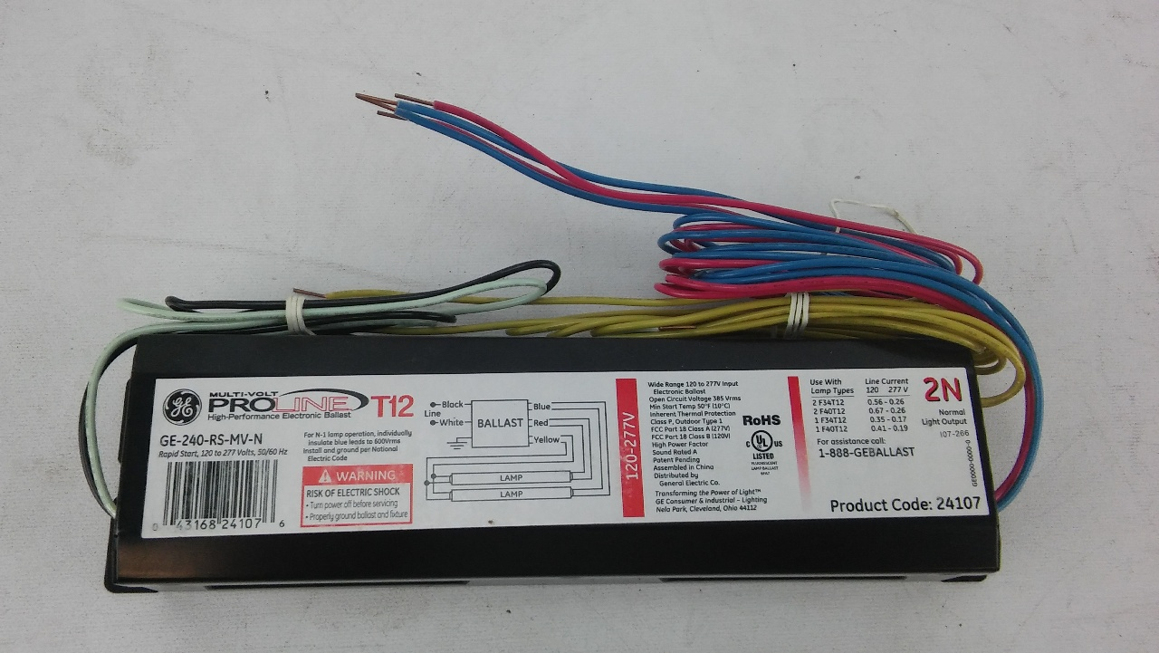 T12 Trigger Start Ballast Wiring Diagram