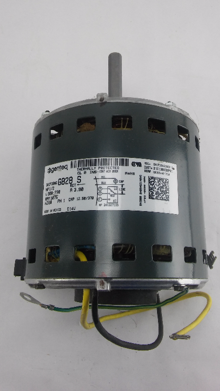 Genteq Blower Motor 1 2 Hp 200 230v 5kcp39ngg828 S 26 2