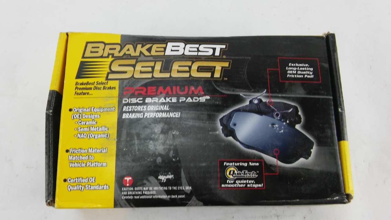 Best Brake Pads >> BrakeBest Select SM756 Brake Pads - Disc Brake Pad Set ...