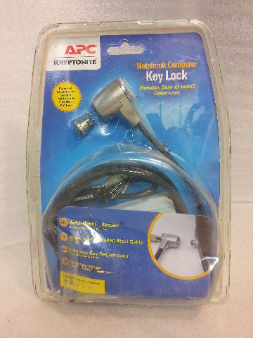 APC Kryptonite Notebook Computer Key Lock - NEW!