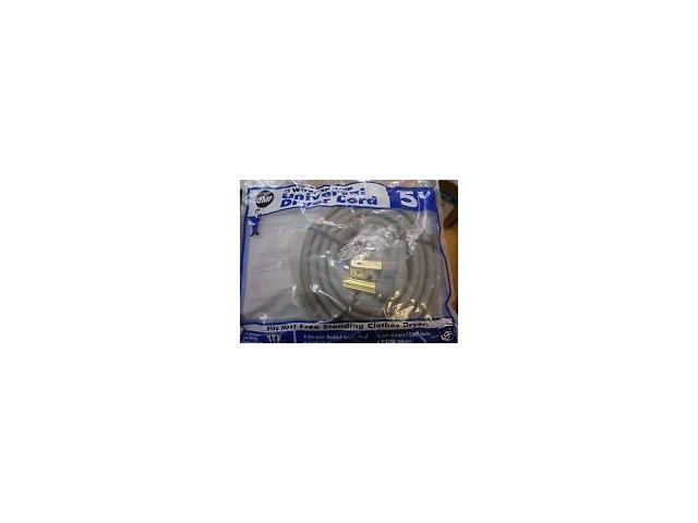 DRYER CORD 5' 3-WIRE/30 AMP UNIVERSAL DRYER CORD