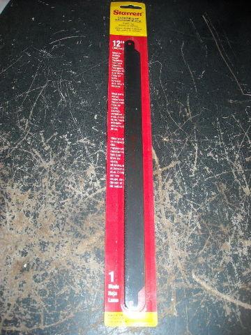 Starrett X1258 Carbide Grit Hacksaw Blade 12x5/8x.32