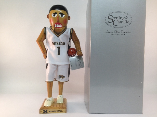 Sterling & Camille Missouri Tigers 2002 Limited Edition Nutcracker