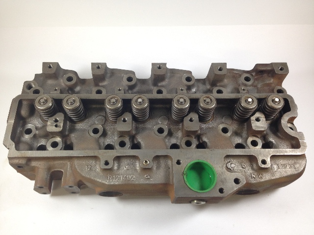 Cylinder Head Assembly : John deere r cylinder head with valve assembly