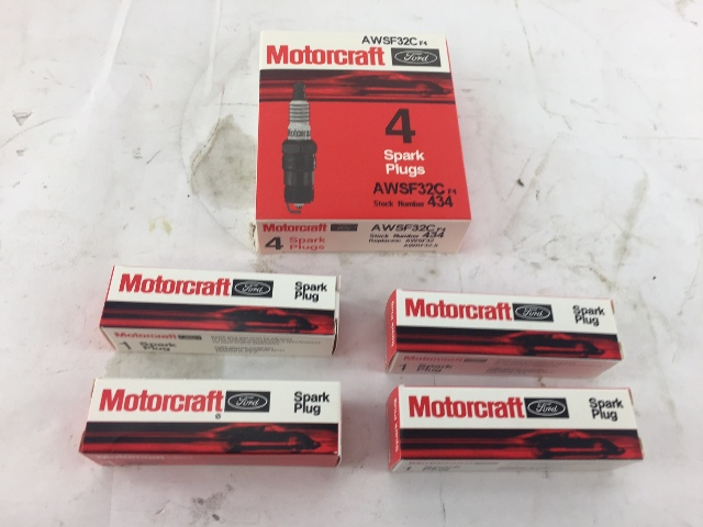 Motorcraft AWSF32C Spark Plugs OEM - PACK OF 4